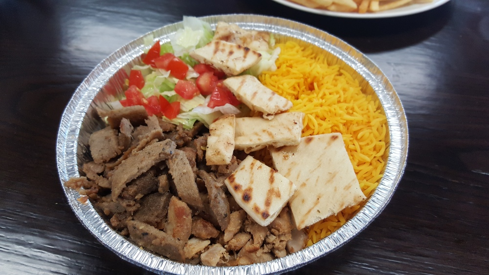 Halal Cart Food from Oh My Gyro