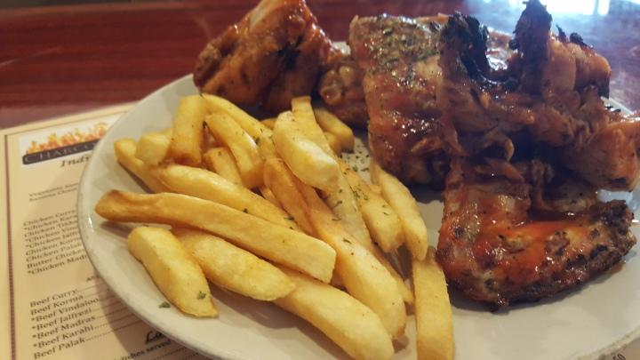 Best item on their menu is the Chicken!