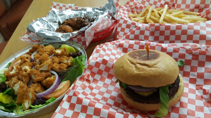 Halal Burger O'Town Burger and Wings Orlando
