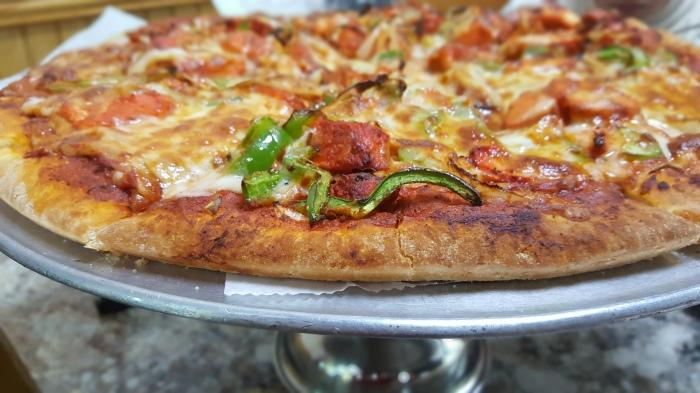 Chaat House Tandoori Chicken Pizza