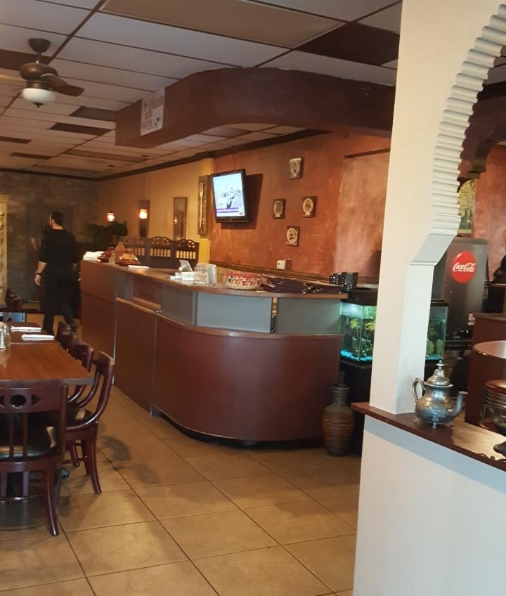 Interior Jerusalem Restaurant Orlando