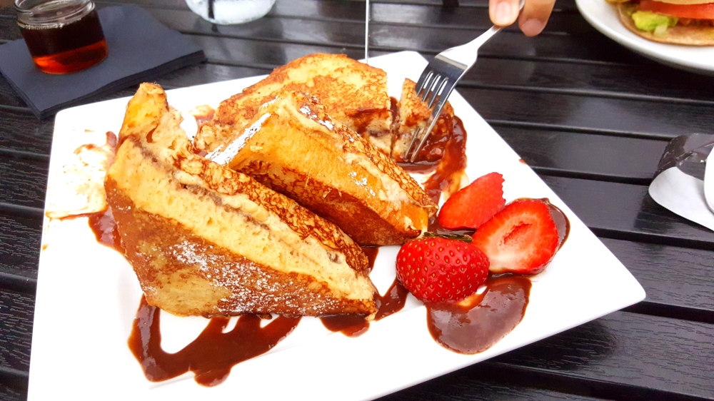 Nutella French Toast from Cozee Cafe