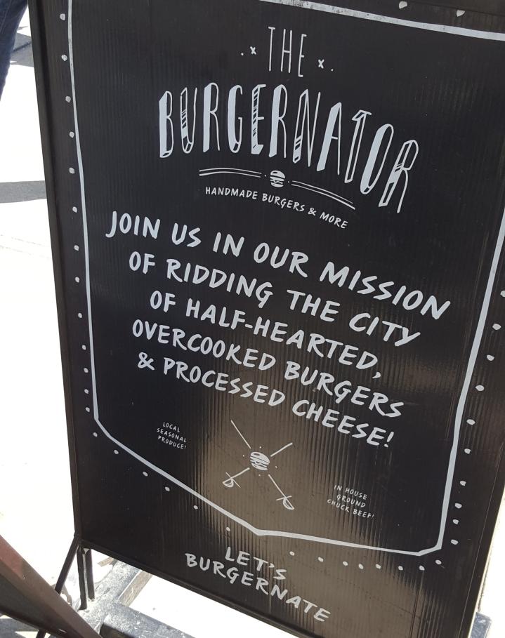 Burgernator Mission