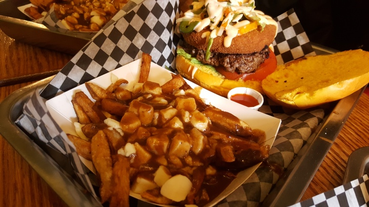 Burger and Poutine from Burgernator