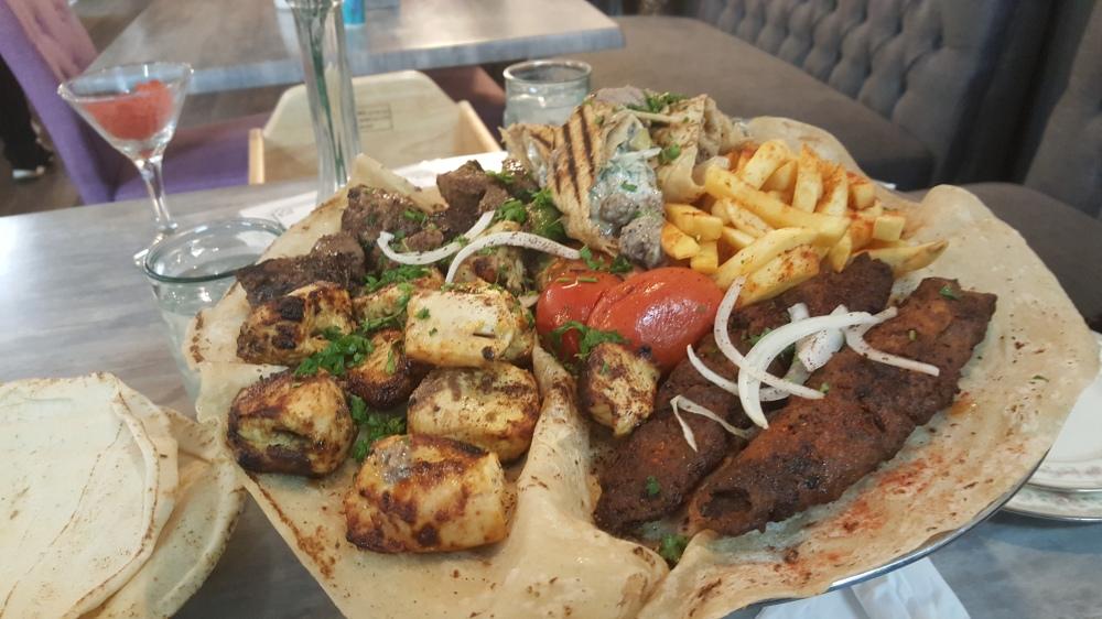 Zaman Cuisine platter